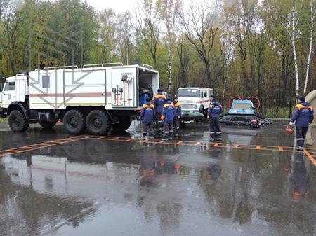 Аварийно-спасательная пожарная машина АСМ тяжелого класса для МЧС