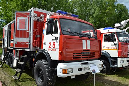Автомобиль Пожарный Многоцелевой МПЗ-АПМ с установкой пожаротушения температурно активированной водой (ТАВ)